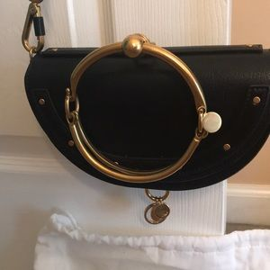 Chloe Nile Leather Bracelet Bag